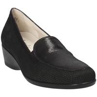 Schoenen Dames Mocassins Melluso R30506E Zwart