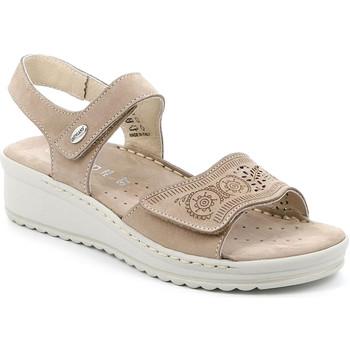 Schoenen Dames Sandalen / Open schoenen Grunland SA2580 Beige