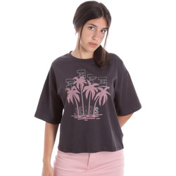 Textiel Dames T-shirts korte mouwen Pepe jeans PL504468 Zwart