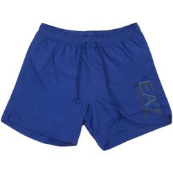 Textiel Heren Zwembroeken/ Zwemshorts Ea7 Emporio Armani 902000 0P738 Blauw
