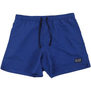 Textiel Heren Zwembroeken/ Zwemshorts Ea7 Emporio Armani 902000 0P730 Blauw