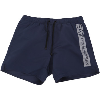 Textiel Heren Zwembroeken/ Zwemshorts Ea7 Emporio Armani 902000 0P732 Blauw