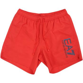 Textiel Heren Zwembroeken/ Zwemshorts Ea7 Emporio Armani 902000 0P738 Rood