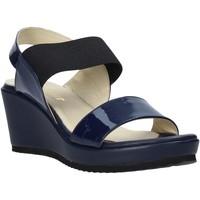 Schoenen Dames Sandalen / Open schoenen Esther Collezioni ZB112 Blauw