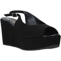 Schoenen Dames Sandalen / Open schoenen Esther Collezioni ZC 042 Zwart