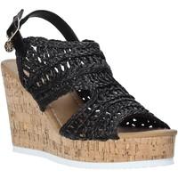 Schoenen Dames Sandalen / Open schoenen Gold&gold A20 GJ265 Zwart
