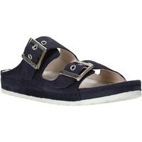 Schoenen Dames Leren slippers Lumberjack SW83506 001 D01 Blauw