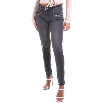 Textiel Dames Skinny jeans Gas 355766 Grijs