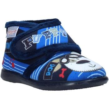Schoenen Kinderen Sloffen Grunland PA0623 Blauw