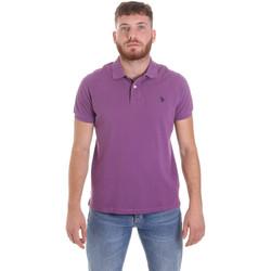 Textiel Heren Polo's korte mouwen U.S Polo Assn. 55957 41029 Paars