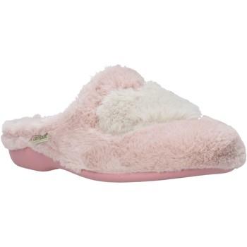 Schoenen Dames Sloffen Grunland CI2089 Roze
