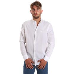 Textiel Heren Overhemden lange mouwen Les Copains 9U2722 Wit