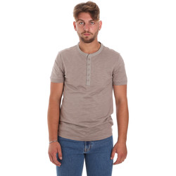 Textiel Heren T-shirts korte mouwen Antony Morato MMKS01725 FA100139 Bruin