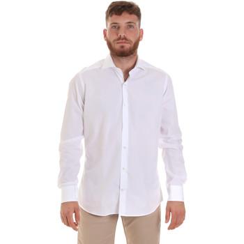 Textiel Heren Overhemden lange mouwen Les Copains 000.006 P3196SL Wit