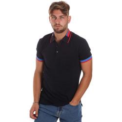 Textiel Heren Polo's korte mouwen Antony Morato MMKS01805 FA100213 Blauw
