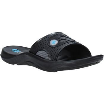 Schoenen Dames slippers Lotto L49345 Zwart