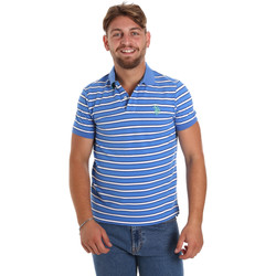 Textiel Heren Polo's korte mouwen U.S Polo Assn. 56336 52802 Blauw