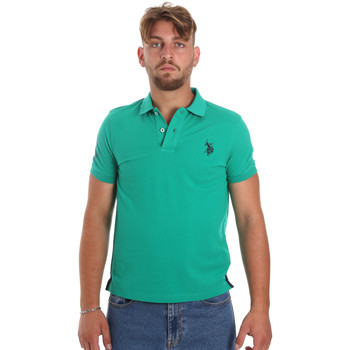 Textiel Heren Polo's korte mouwen U.S Polo Assn. 55985 41029 Groen
