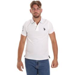 Textiel Heren Polo's korte mouwen U.S Polo Assn. 55985 41029 Wit