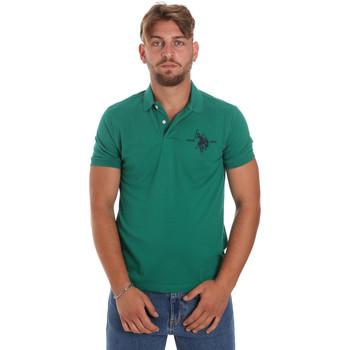 Textiel Heren Polo's korte mouwen U.S Polo Assn. 55959 41029 Groen