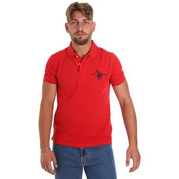 Textiel Heren Polo's korte mouwen U.S Polo Assn. 55959 41029 Rood