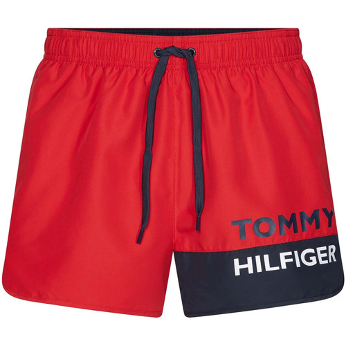 Textiel Heren Zwembroeken/ Zwemshorts Tommy Hilfiger UM0UM01683 Rood