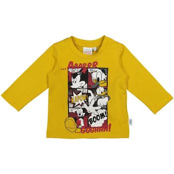 Textiel Kinderen T-shirts met lange mouwen Melby 20C2040DN Geel