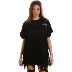 Textiel Dames Sweaters / Sweatshirts Versace B6HVB79813956899 Zwart