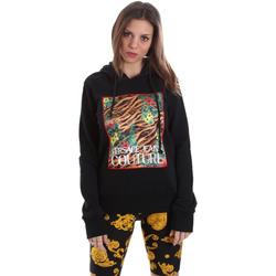Textiel Dames Sweaters / Sweatshirts Versace B6HVB70K30328899 Zwart