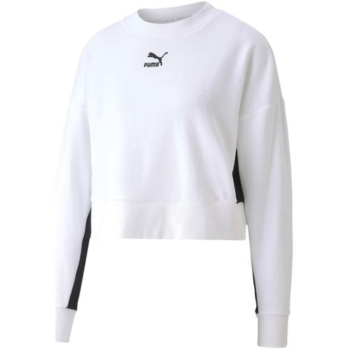 Textiel Dames Sweaters / Sweatshirts Puma 597637 Wit