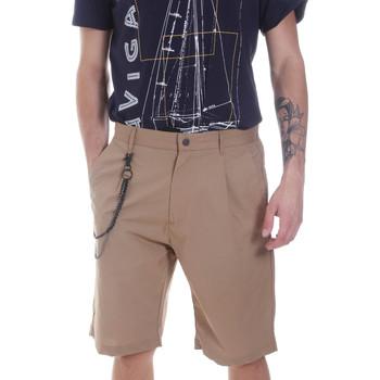 Textiel Heren Korte broeken / Bermuda's Antony Morato MMSH00157 FA900118 Beige