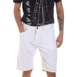 Textiel Heren Korte broeken / Bermuda's Antony Morato MMSH00152 FA900123 Wit