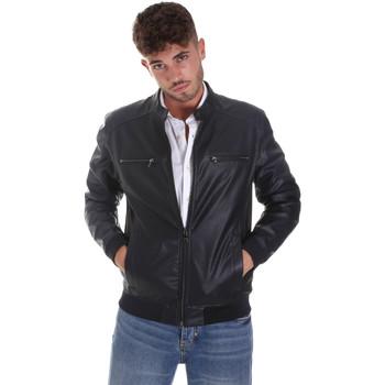 Textiel Heren Leren jas / kunstleren jas Sseinse GBE574SS Blauw