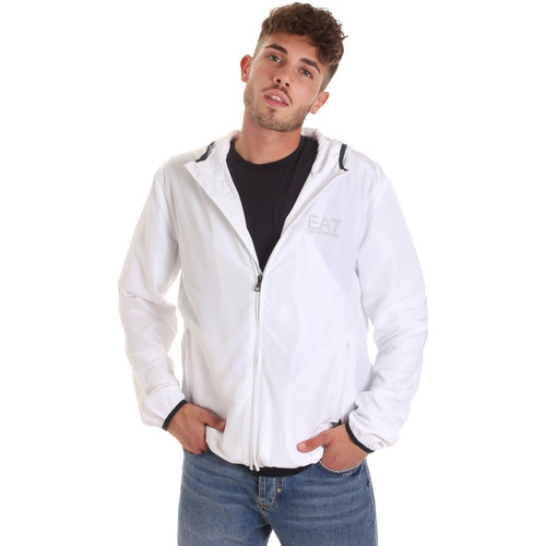 Textiel Heren Windjack Ea7 Emporio Armani 8NPB04 PNN7Z Wit