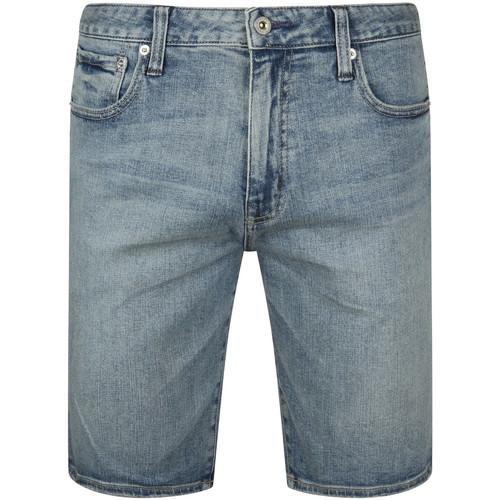 Textiel Heren Korte broeken / Bermuda's Superdry M7110012A Blauw