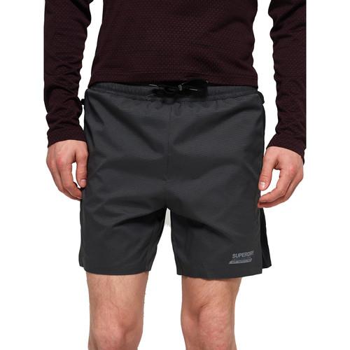 Textiel Heren Korte broeken / Bermuda's Superdry MS3001AR Grijs