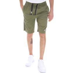 Textiel Heren Korte broeken / Bermuda's Tommy Jeans DM0DM08714 Groen