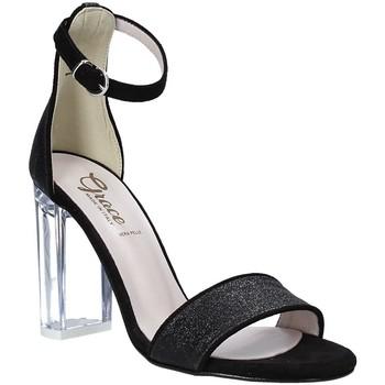 Schoenen Dames Sandalen / Open schoenen Grace Shoes 018TR003 Zwart