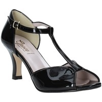 Schoenen Dames Sandalen / Open schoenen Grace Shoes 928010 Zwart