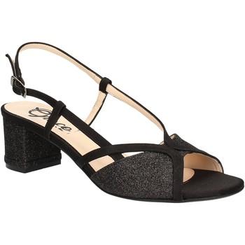 Schoenen Dames Sandalen / Open schoenen Grace Shoes 2070 Zwart