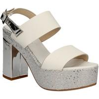 Schoenen Dames Sandalen / Open schoenen Grace Shoes OTRANTO 91 F9 Wit
