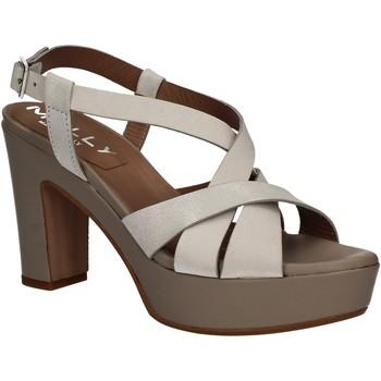 Schoenen Dames Sandalen / Open schoenen Mally 5744 Zilver