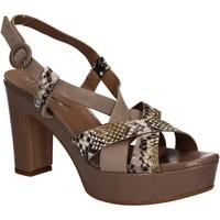 Schoenen Dames Sandalen / Open schoenen Mally 5832 Bruin