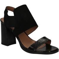 Schoenen Dames Sandalen / Open schoenen Mally 5228 Zwart