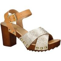 Schoenen Dames Sandalen / Open schoenen Keys 5864 Geel