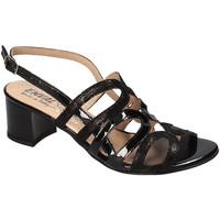 Schoenen Dames Sandalen / Open schoenen Enval 3298300 Zwart