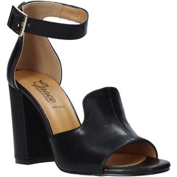 Schoenen Dames Sandalen / Open schoenen Grace Shoes 018N026 Zwart