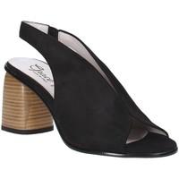 Schoenen Dames Sandalen / Open schoenen Grace Shoes 492S001 Zwart