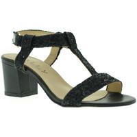 Schoenen Dames Sandalen / Open schoenen Mally 3895 Zwart
