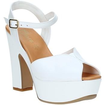 Schoenen Dames Sandalen / Open schoenen Grace Shoes FLY Wit